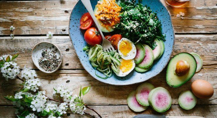 Ät grönt på restaurang